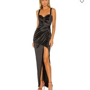 x REVOLVE Slay Gown in Black by Nookie